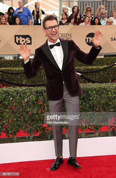 TV personality Brad Goreski attends the 22nd Annual Screen Actors Guild Awards at The Shrine Auditorium on January 30 2016 in Los Angeles California