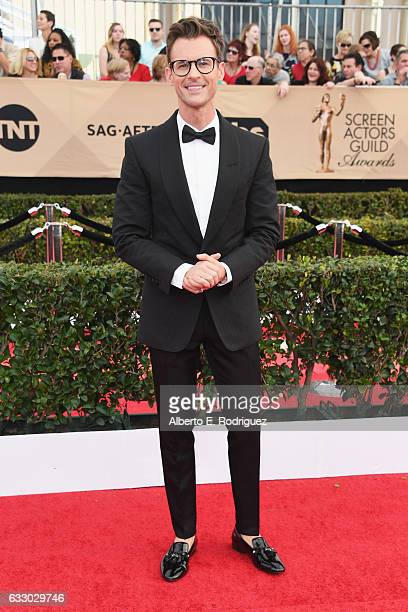 TV personality Brad Goreski attends the 23rd Annual Screen Actors Guild Awards at The Shrine Expo Hall on January 29 2017 in Los Angeles California