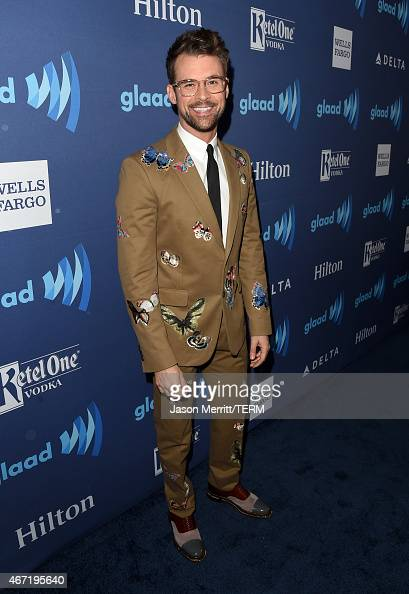 TV personality Brad Goreski attends the 26th Annual GLAAD Media Awards at The Beverly Hilton Hotel on March 21 2015 in Beverly Hills California