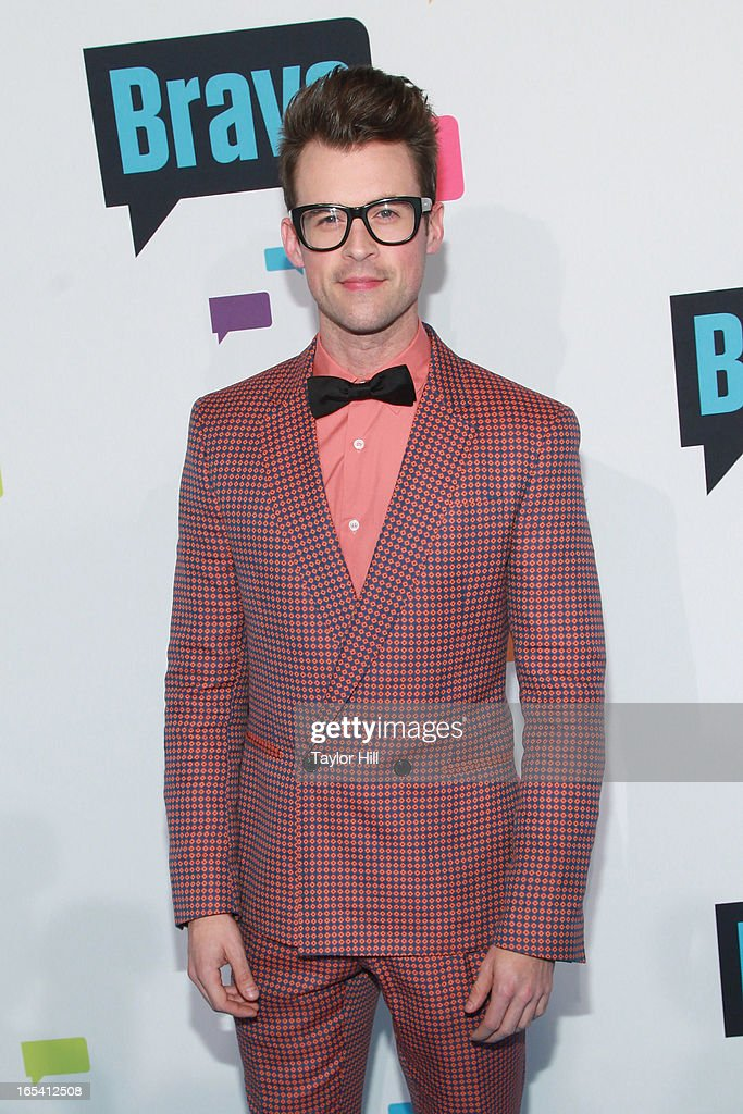 TV personality Brad Goreski of 'It's a Brad, Brad World' attends the 2013 Bravo Upfront at Pillars 37 Studios on April 3, 2013 in New York City.