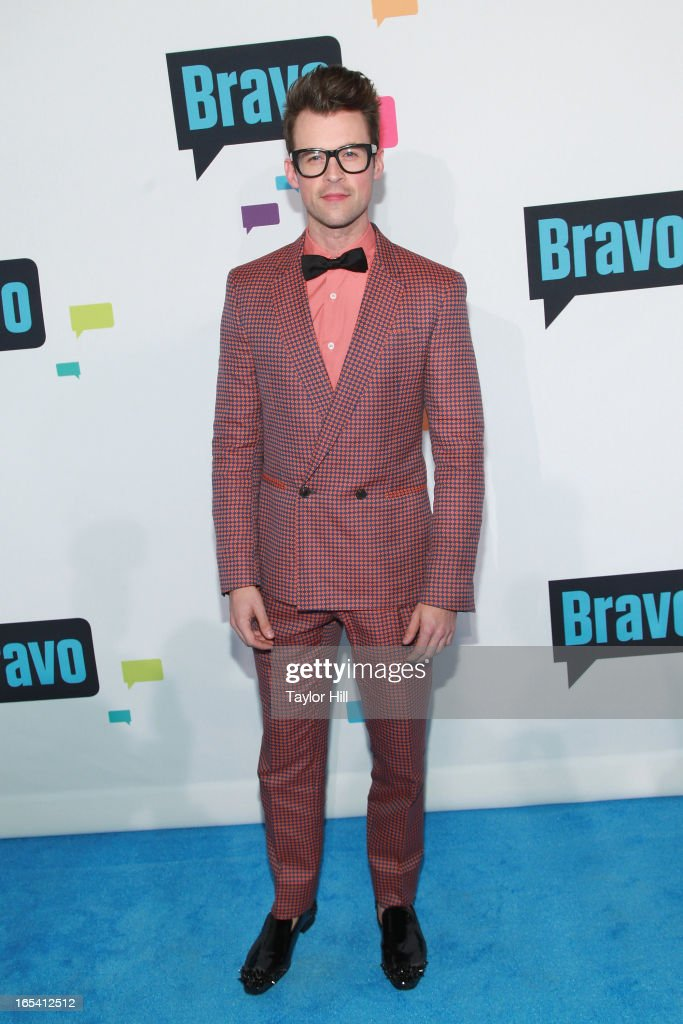 TV personality Brad Goreski of 'It's a Brad, Brad World' attends the 2013 Bravo Upfront at Pillars 37 Studios on April 3, 2013 in New York City.
