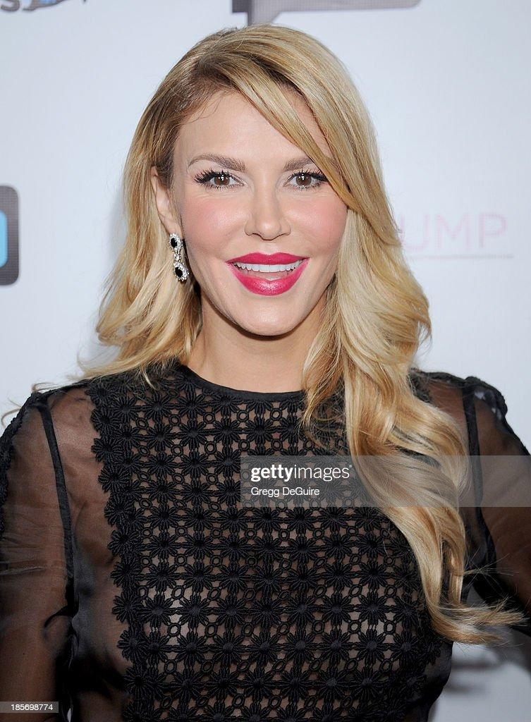 TV personality <a gi-track='captionPersonalityLinkClicked' href=/galleries/search?phrase=Brandi+Glanville&family=editorial&specificpeople=841250 ng-click='$event.stopPropagation()'>Brandi Glanville</a> arrives at 'The Real Housewives Of Beverly Hills' And 'Vanderpump Rules' premiere party at Boulevard3 on October 23, 2013 in Hollywood, California.