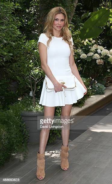 TV personality Brandi Glanville attends the ABCs Mother's Day Luncheon at the Four Seasons Hotel Los Angeles at Beverly Hills on May 7 2014 in...