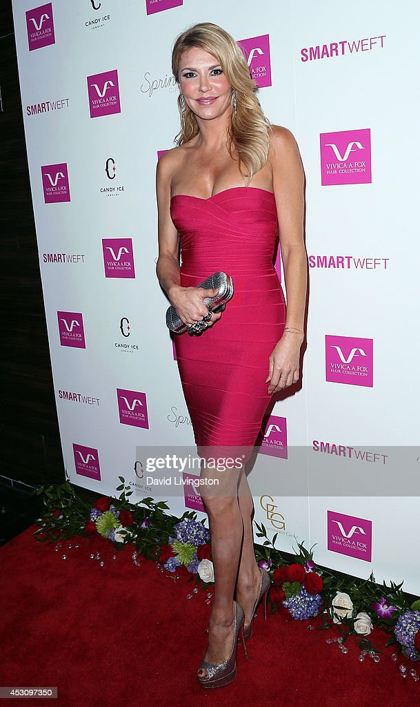TV personality <a gi-track='captionPersonalityLinkClicked' href=/galleries/search?phrase=Brandi+Glanville&family=editorial&specificpeople=841250 ng-click='$event.stopPropagation()'>Brandi Glanville</a> attends the Vivica A. Fox 50th birthday celebration at Philippe Chow on August 2, 2014 in Beverly Hills, California.