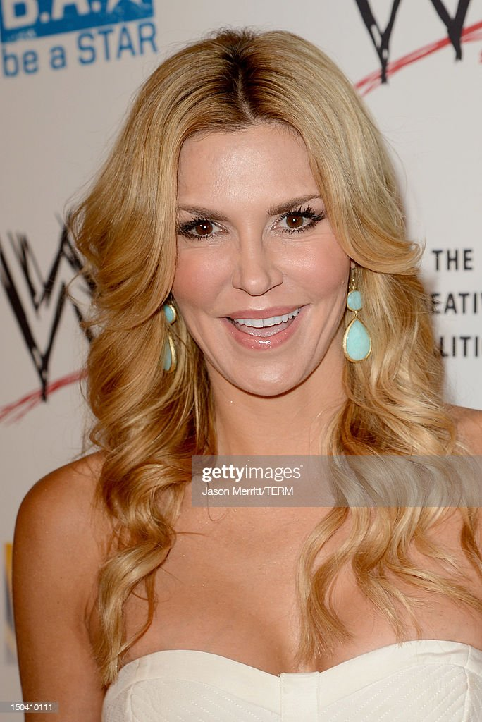 TV personality Brandi Glanville attends the WWE SummerSlam VIP Kick-Off Party at Beverly Hills Hotel on August 16, 2012 in Beverly Hills, California.