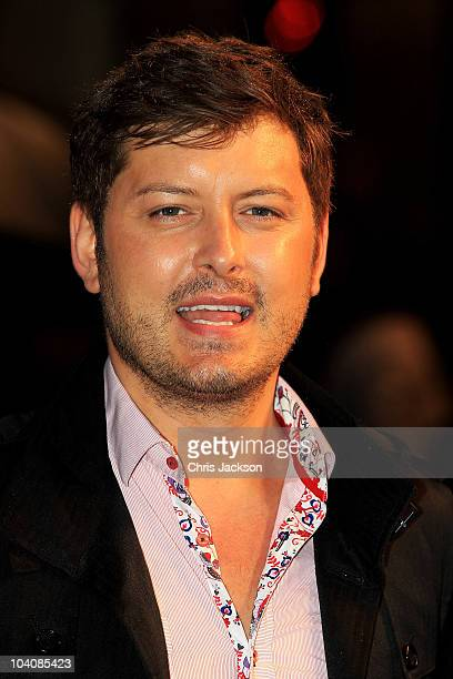 TV personality Brian Dowling attends 'The Other Guys' UK film premiere at the Vue Leicester Square on September 14 2010 in London England