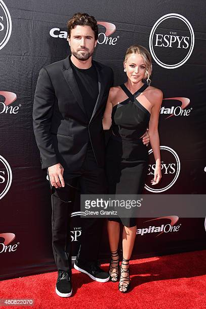 TV personality Brody Jenner and Kaitlynn Carter attend The 2015 ESPYS at Microsoft Theater on July 15 2015 in Los Angeles California