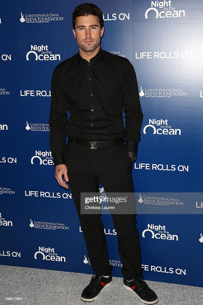 TV personality Brody Jenner arrives at the Life Rolls On foundation's 9th annual 'Night by the Ocean' gala at Ritz Carlton Hotel on November 10, 2012 in Marina del Rey, California.