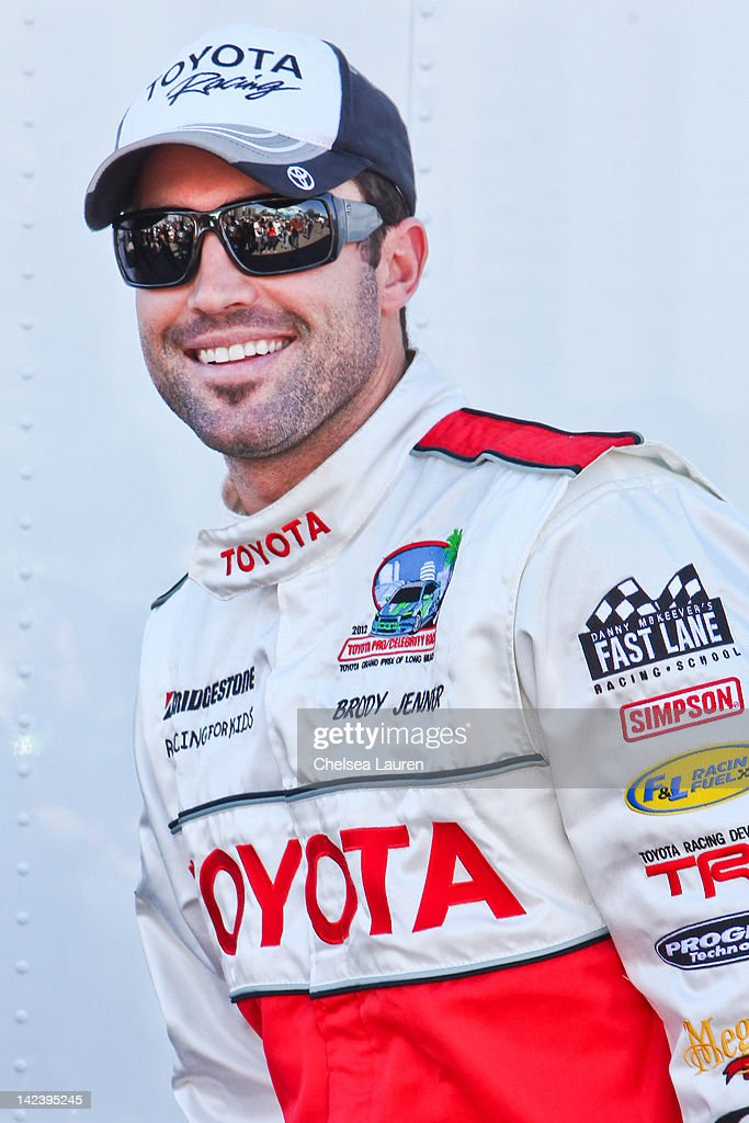 TV personality <a gi-track='captionPersonalityLinkClicked' href=/galleries/search?phrase=Brody+Jenner&family=editorial&specificpeople=689564 ng-click='$event.stopPropagation()'>Brody Jenner</a> attends the 36th annual Toyota pro/celebrity race press day on April 3, 2012 in Long Beach, California.