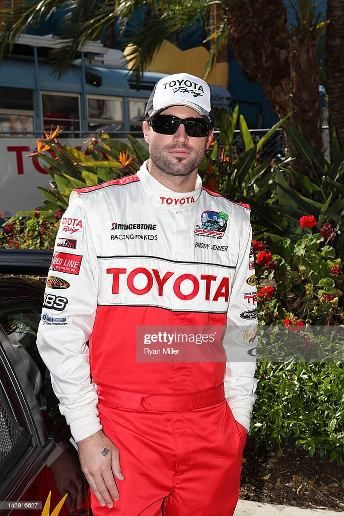 TV personality Brody Jenner poses during the 36th Annual Toyota Pro/Celebrity Race held at the Toyota Grand Prix of Long Beach on April 14, 2012 in Long Beach, California.