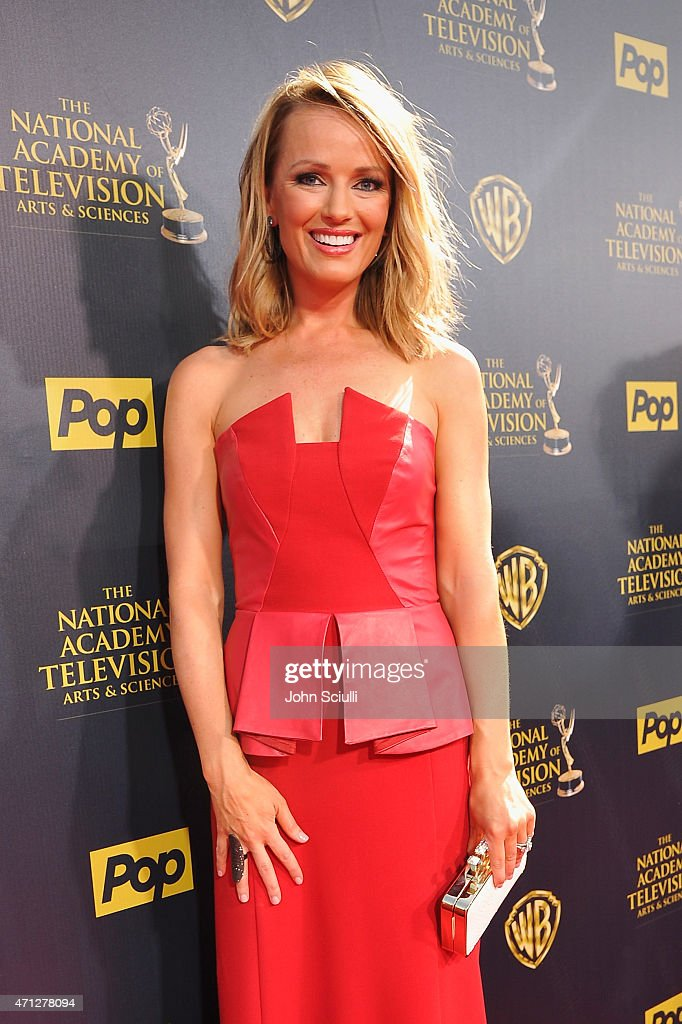 TV personality Brooke Anderson attends The 42nd Annual Daytime Emmy Awards at Warner Bros Studios on April 26 2015 in Burbank California