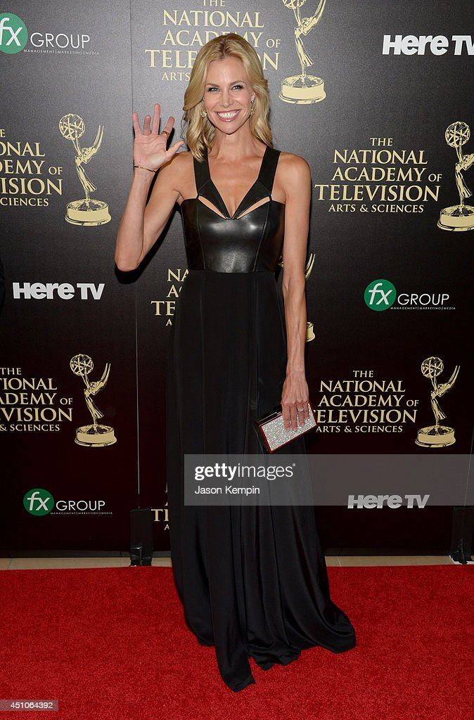 TV personality <a gi-track='captionPersonalityLinkClicked' href=/galleries/search?phrase=Brooke+Burns&family=editorial&specificpeople=202626 ng-click='$event.stopPropagation()'>Brooke Burns</a> attends The 41st Annual Daytime Emmy Awards at The Beverly Hilton Hotel on June 22, 2014 in Beverly Hills, California.