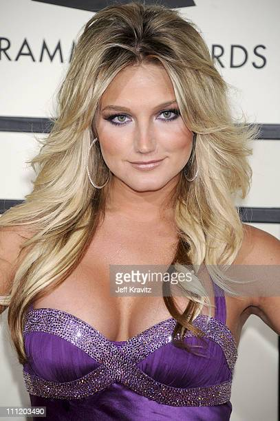 TV Personality Brooke Hogan arrives to the 50th Annual GRAMMY Awards at the Staples Center on February 10 2008 in Los Angeles California