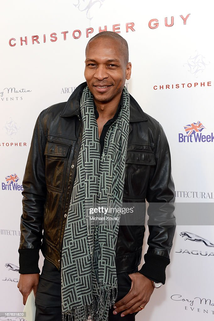 TV personality Bruce Reynolds attends the BritWeek Christopher Guy event with official vehicle sponsor Jaguar on April 26, 2013 in Los Angeles, California.