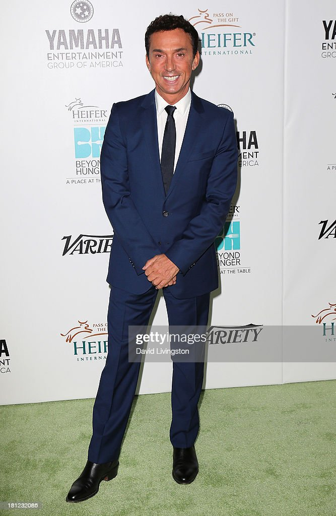 TV personality <a gi-track='captionPersonalityLinkClicked' href=/galleries/search?phrase=Bruno+Tonioli&family=editorial&specificpeople=742704 ng-click='$event.stopPropagation()'>Bruno Tonioli</a> attends Heifer International's 'Beyond Hunger: A Place at the Table' gala at Montage Beverly Hills on September 19, 2013 in Beverly Hills, California.