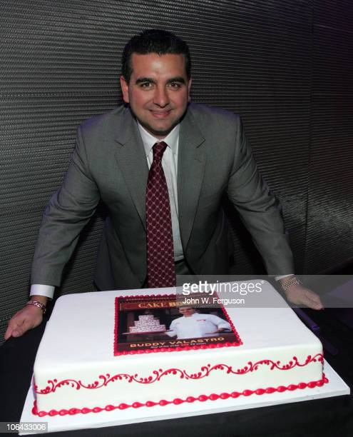 TV personality Buddy Valastro attends Cake Boss Buddy Valastro's book launch at W Hotel on November 1 2010 in Hoboken New Jersey
