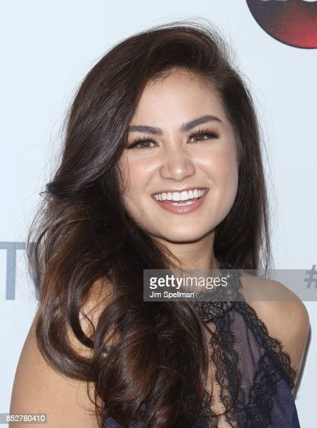 TV personality Caila Quinn attends the ABC Tuesday Night Block Party event at Crosby Street Hotel on September 23 2017 in New York City