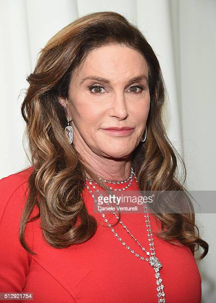 TV personality Caitlyn Jenner attends Bulgari at the 24th Annual Elton John AIDS Foundation's Oscar Viewing Party at The City of West Hollywood Park...