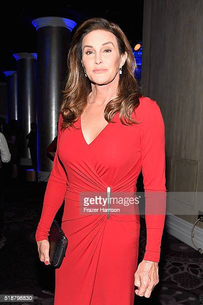 TV personality Caitlyn Jenner attends the 27th Annual GLAAD Media Awards at the Beverly Hilton Hotel on April 2 2016 in Beverly Hills California
