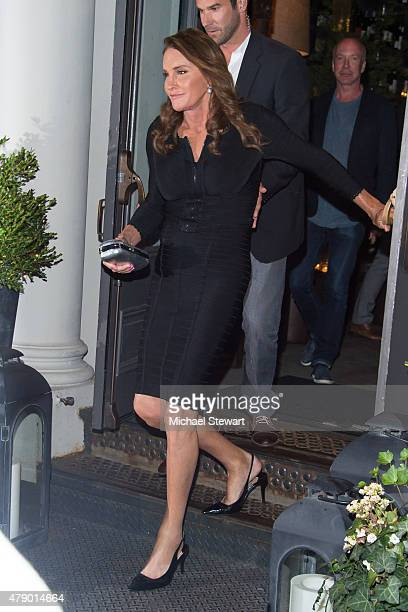 TV personality Caitlyn Jenner seen in Tribeca on June 29 2015 in New York City