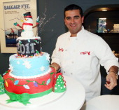 TV personality 'Cake Boss' Buddy Valastro attends Continental VIP Lounge From Chase at Short Hills Mall on December 18 2010 in Short Hills New Jersey