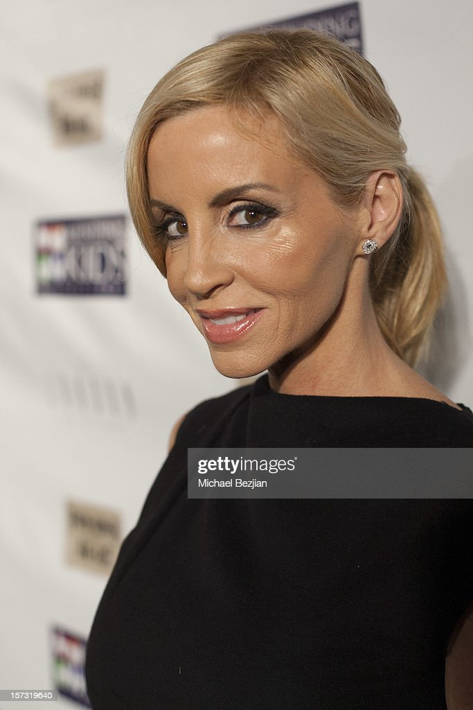 TV personality Camille Grammer attends Mending Kids International Celebrity Poker Tournament - Red Carpet at The London Hotel on December 1, 2012 in West Hollywood, California.