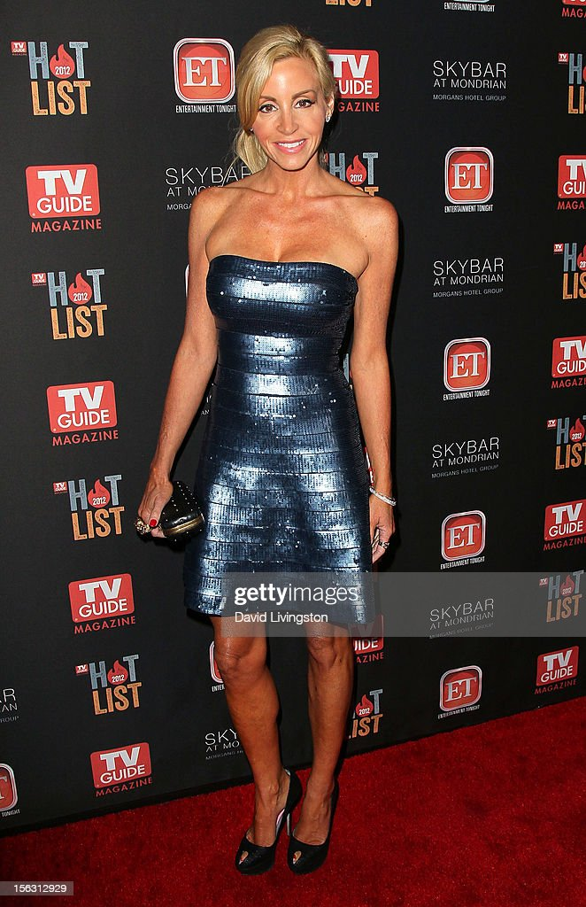 TV personality Camille Grammer attends TV Guide Magazine's 2012 Hot List Party at SkyBar at the Mondrian Los Angeles on November 12, 2012 in West Hollywood, California.