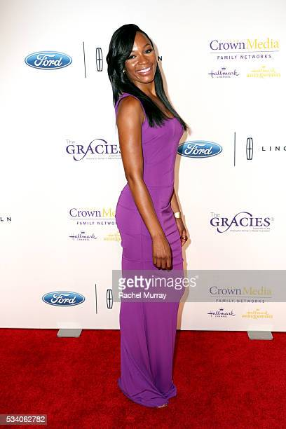 TV personality Cari Champion attends the 41st Annual Gracie Awards at Regent Beverly Wilshire Hotel on May 24 2016 in Beverly Hills California