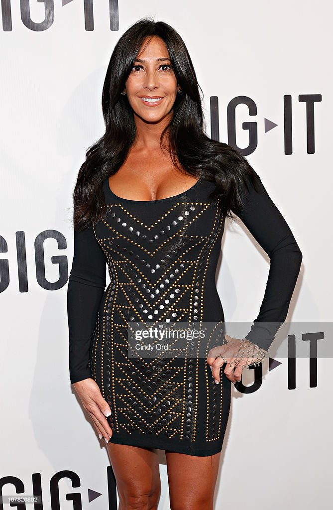 TV personality Carla Facciolo attends the Gig-It Launch Party at Capitale Bowery on April 30, 2013 in New York City.