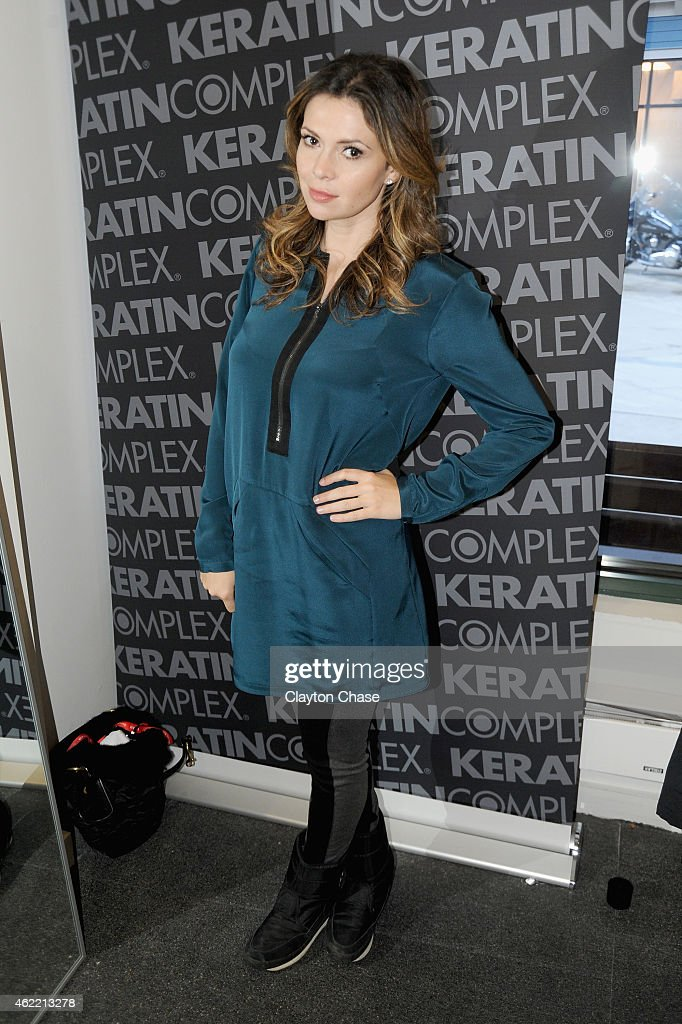TV personality Carly Steel attends Music Lodge Hosts MTV Interview Studio Day 2 on January 25 2015 in Park City Utah