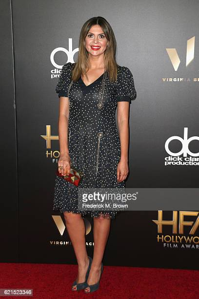 TV personality Carly Steel attends the 20th Annual Hollywood Film Awards on November 6 2016 in Beverly Hills California