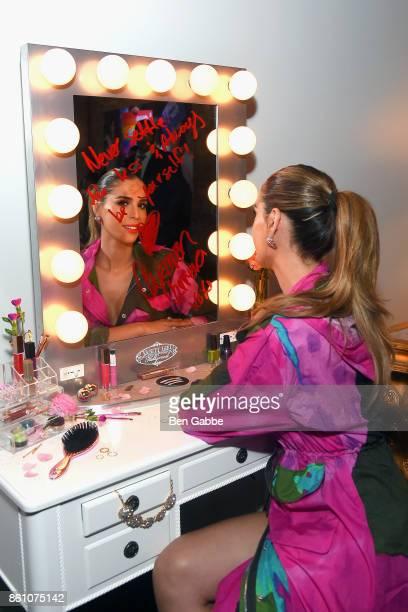 TV personality Carmen Carrera attends Spotify's Soundtrack de Mi Vida Campaign Celebration on October 13 2017 in New York City