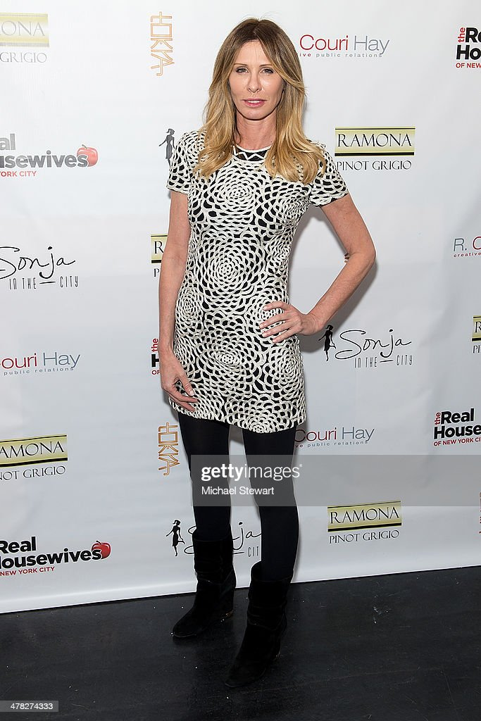 TV personality Carole Radziwill attends the 'The Real Housewives Of New York City' season six premiere party at Tokya on March 12, 2014 in New York City.