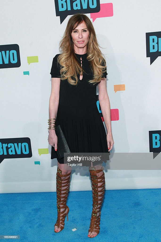 TV personality Carole Radziwill of 'The Real Housewives of New York' attends the 2013 Bravo Upfront at Pillars 37 Studios on April 3, 2013 in New York City.