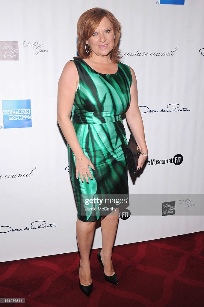 TV Personality Caroline Manzo attends the 2012 Couture Council for the Museum at FIT Award for Artistry of Fashion to Oscar de la Renta at the David H. Koch Theater at Lincoln Center on September 5, 2012 in New York City.