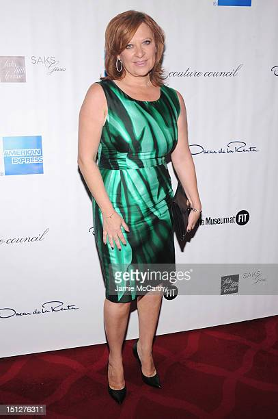 Personality Caroline Manzo attends the 2012 Couture Council for the Museum at FIT Award for Artistry of Fashion to Oscar de la Renta at the David H...