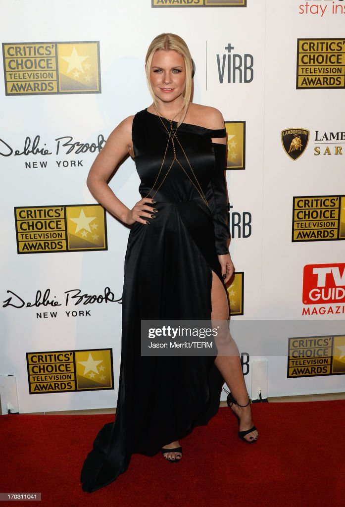 TV personality Carrie Keagan arrives at Broadcast Television Journalists Association's third annual Critics' Choice Television Awards at The Beverly Hilton Hotel on June 10, 2013 in Beverly Hills, California.