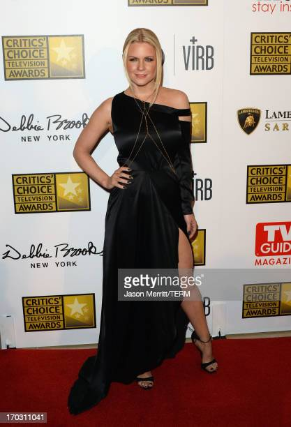 TV personality Carrie Keagan arrives at Broadcast Television Journalists Association's third annual Critics' Choice Television Awards at The Beverly...