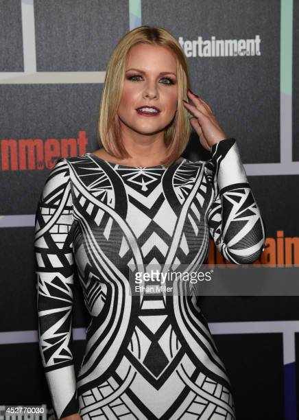 TV personality Carrie Keagan attends Entertainment Weekly's annual ComicCon celebration at Float at Hard Rock Hotel San Diego on July 26 2014 in San...