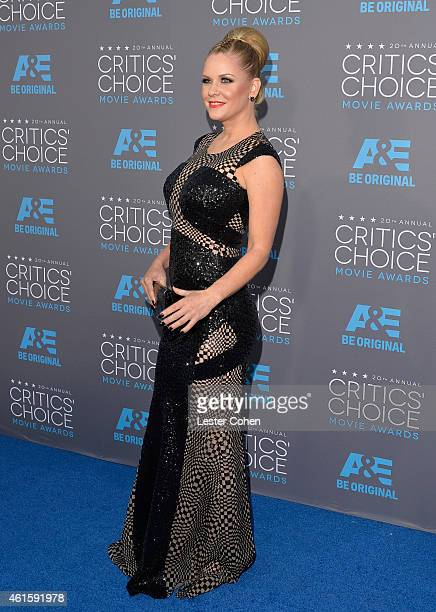 Personality Carrie Keagan attends the 20th annual Critics' Choice Movie Awards at the Hollywood Palladium on January 15 2015 in Los Angeles California