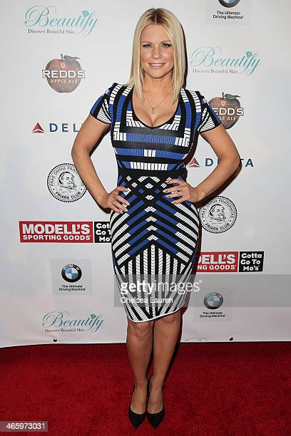 TV personality Carrie Keagan attends the Friars Club Roast honoring Boomer Esiason at The Waldorf=Astoria on January 30 2014 in New York City
