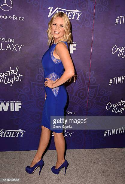 TV personality Carrie Keagan attends Variety and Women in Film Annual PreEmmy Celebration at Gracias Madre on August 23 2014 in West Hollywood...