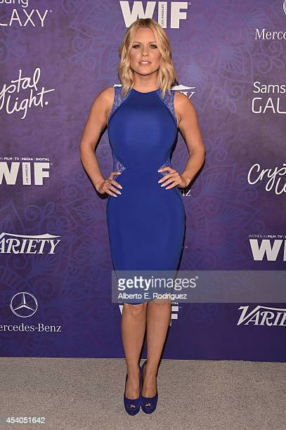 TV personality Carrie Keagan attends Variety and Women in Film Emmy Nominee Celebration powered by Samsung Galaxy on August 23 2014 in West Hollywood...