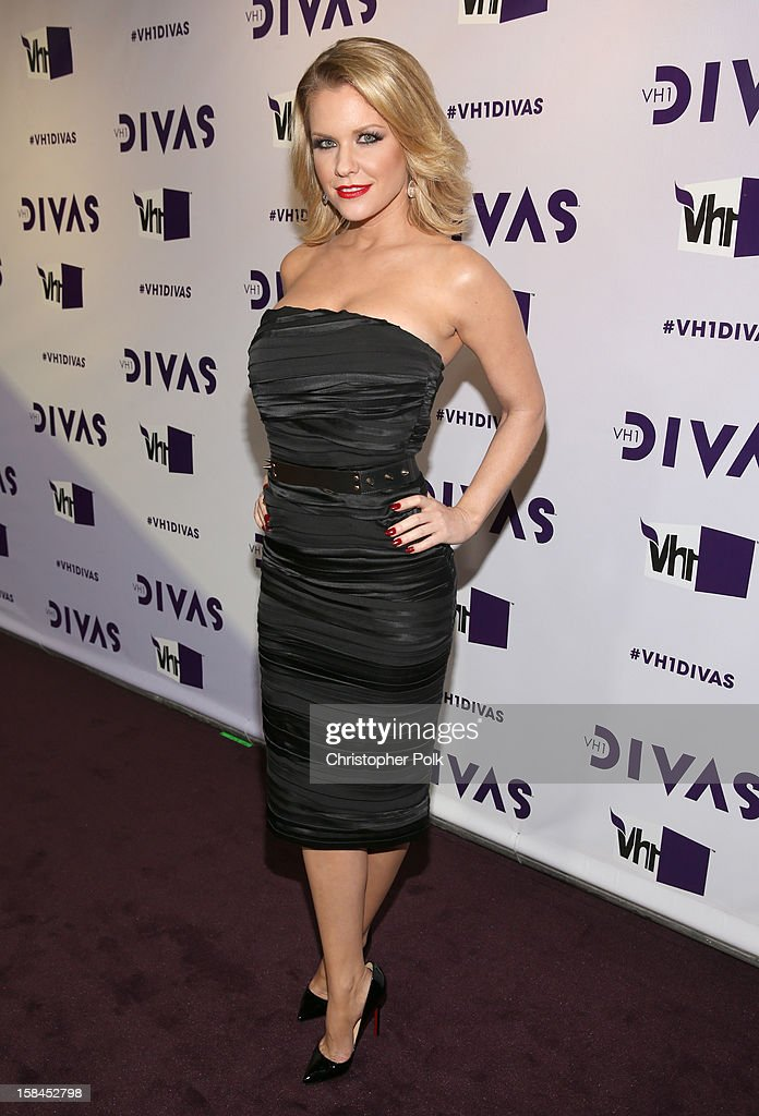 TV personality Carrie Keagan attends 'VH1 Divas' 2012 at The Shrine Auditorium on December 16, 2012 in Los Angeles, California.