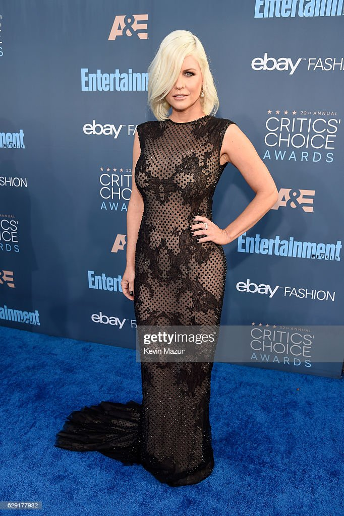 TV personality Carrie Keegan attends The 22nd Annual Critics' Choice Awards at Barker Hangar on December 11, 2016 in Santa Monica, California.