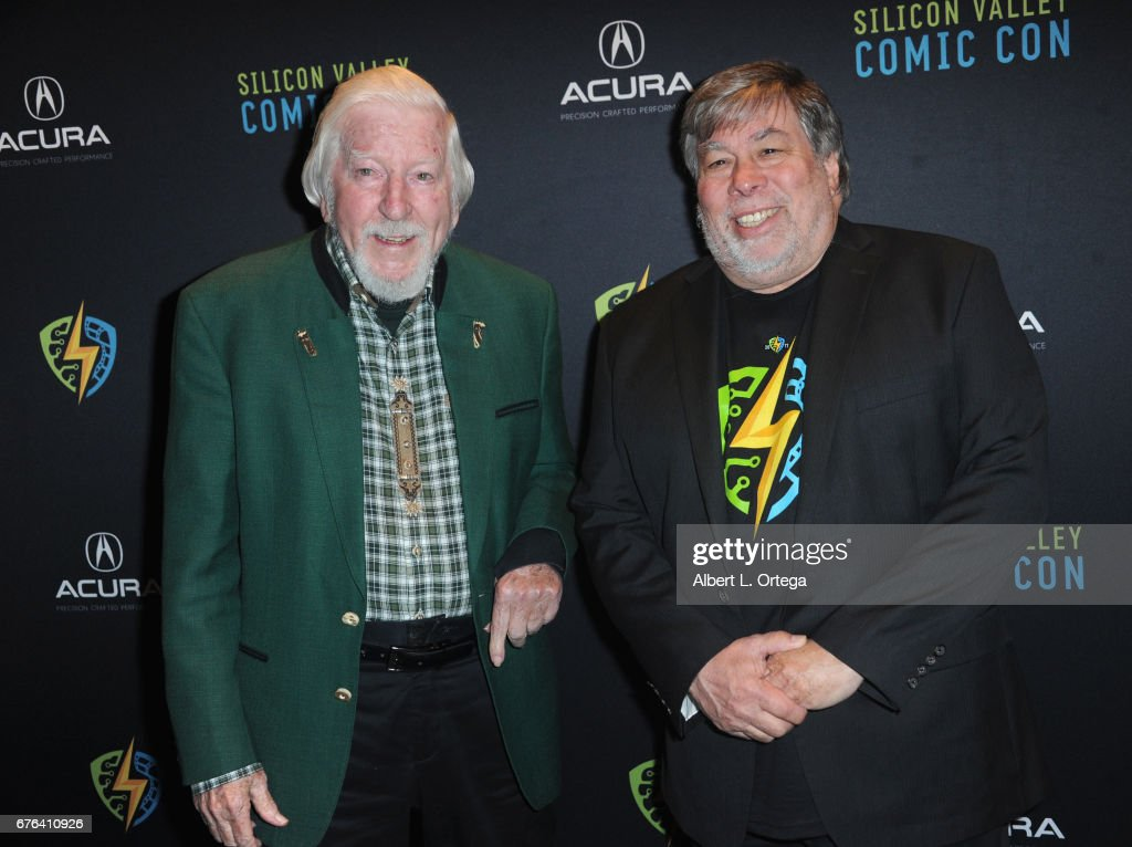 The WOZ Party Meet and Greet with Silicon Valley Comic Con Founder Steve Wozniak