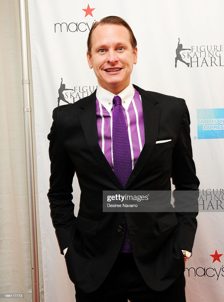 TV personality <a gi-track='captionPersonalityLinkClicked' href=/galleries/search?phrase=Carson+Kressley&family=editorial&specificpeople=202017 ng-click='$event.stopPropagation()'>Carson Kressley</a> attends the 2013 Skating With The Stars Benefit Gala at Trump Rink at Central Park on April 8, 2013 in New York City.