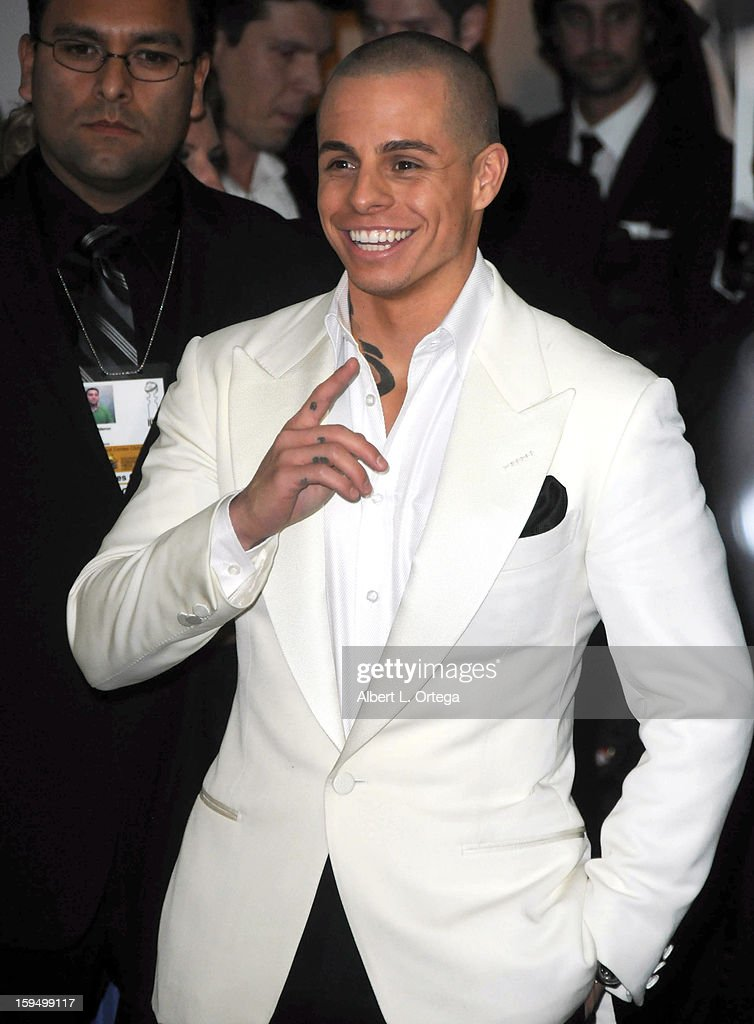 Personality Casper Smart arrives for the Weinstein Company's 2013 Golden Globe Awards After Party - Arrivals on January 13, 2013 in Beverly Hills, California.