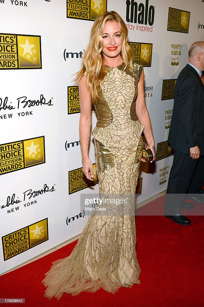TV Personality Cat Deeley arrives at Broadcast Television Journalists Association's third annual Critics' Choice Television Awards at The Beverly Hilton Hotel on June 10, 2013 in Los Angeles, California.