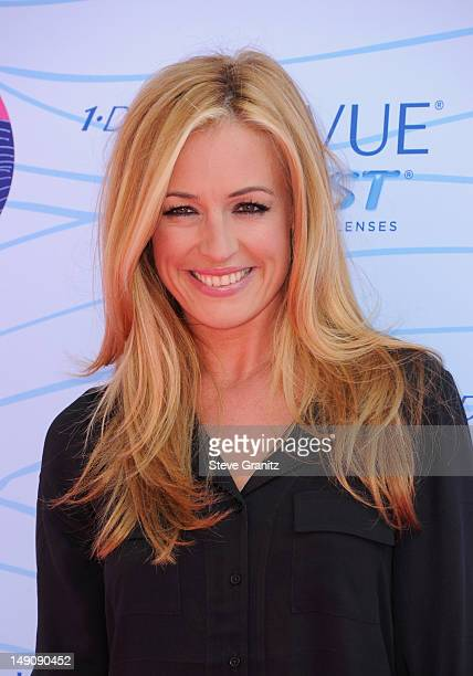 TV personality Cat Deeley arrives at the 2012 Teen Choice Awards at Gibson Amphitheatre on July 22 2012 in Universal City California
